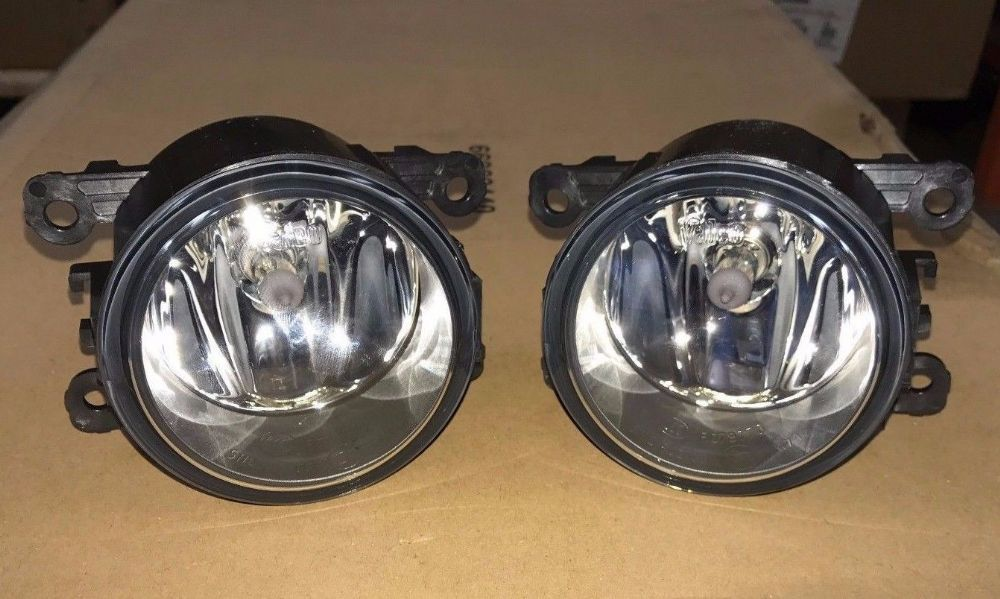 New PAIR Genuine Valeo Renault Scenic III Front Fog Lamps Spot Lights 261500097R